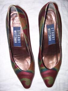 métallisé cuir Stuart multicoloremulticoloresSz WeitzmanEscarpins 6m classiques en rsxtQdhC
