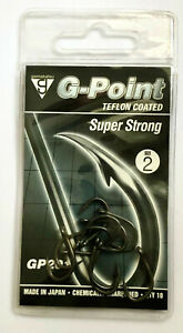 Gamakatsu G-Point Super Strong Hook Size 2