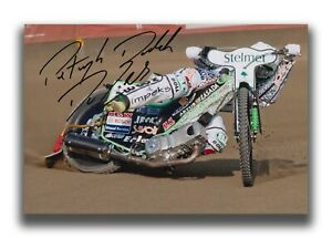 PATRYK-DUDEK-HAND-SIGNED-12X8-PHOTO-SPEEDWAY-AUTOGRAPH