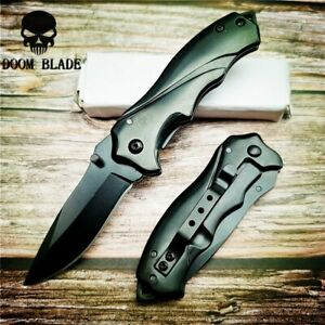 Folding-Hunting-Knife-Fast-Open-Camping-Pocket-Tactical-Knives-Outdoor-Survival