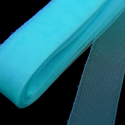 "10 Yards Roll 2/"" Light Turquoise Threaded Horsehair Braid Trim"
