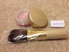 Bare Minerals Brand New Blusher + Brush Kit set Glamour 0.85g Full Size Free P+P