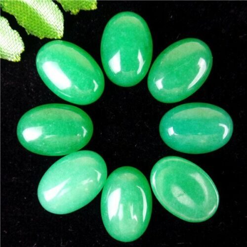 8Pcs Multiple Choice Mixed Gemstone Agate Oval Cab Cabochon 14x10x5mm AE5035