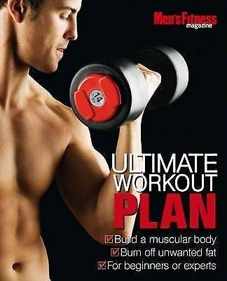 """""""AS NEW"""" Men's Fitness Ultimate Workout Plan, Alistair McDonald, Book"""