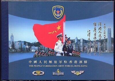 Asien Hongkong 2004 Volksarmee Army Pla Militär Flag 1184-1187 Markenheft Booklet Mnh Herausragende Eigenschaften Briefmarken