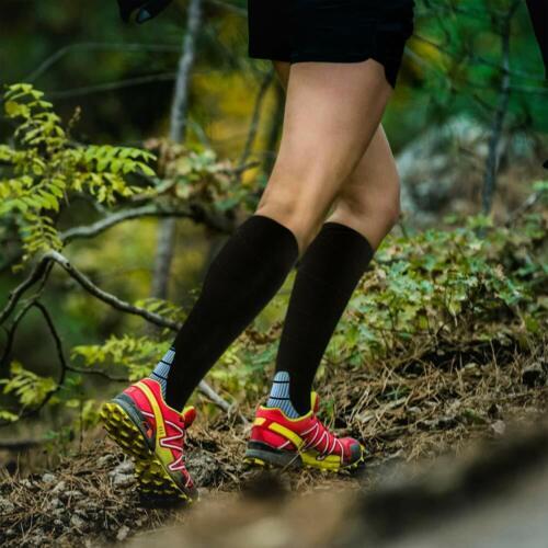 1//2 Pair Compression Socks Calf Sleeve Leg Support Brace 20-30mmHg For Men Women