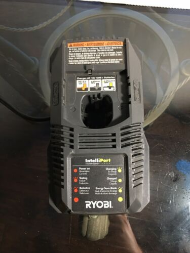 Ryobi ONE P118 18V NiCd Lithium Ion Battery Charger Read Description.