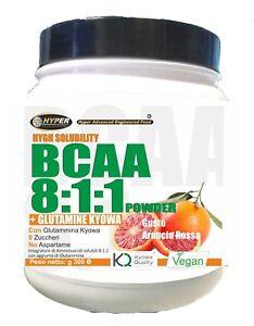 Bcaa-8-1-1-Poudre-Glutamine-Kyowa-Gout-Orange-Gr-600-0-Hydrates-de-Carbone