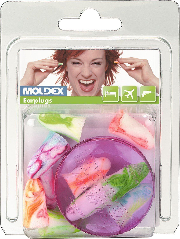 1 Box Moldex SparkPlugs/® Extra-Soft Extra Light Foam Earplugs 200 Pairs SNR 35db