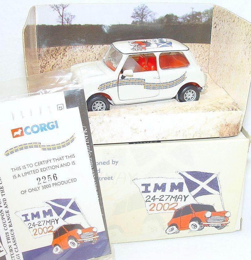 Corgi Toys 1 36 MORRIS MINI COOPER  CALEDONIAN MINI CLUB  Model Car MIB`02 RARE