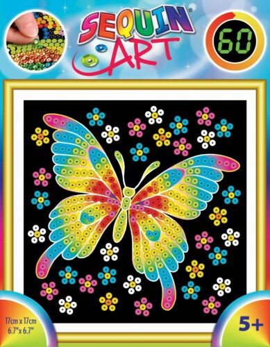 Sequin Art 60 Butterfly Craft Kit For Kids 1325