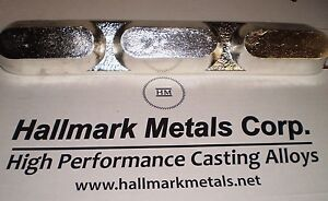 Pewter-Casting-Alloy-with-SILVER-Lead-Free-Metal-6-LB-bars-Jewelry-Jig-Lures