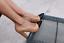 Rare-ZARA-Tan-Black-Leather-High-Block-Heels-Shoes-UK-4-Euro-37-Bloggers-Fave thumbnail 1