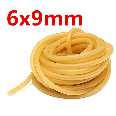 1/3/510/M Natural Latex Rubber Surgical Tube Band for Slingshot Elastic 6x9mm UK