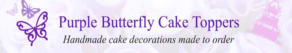 purplebutterflycaketoppers