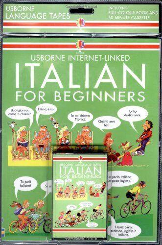 Italian for Beginners (Usborne Language for Beginners) By Angela Wilkes, C. DiB