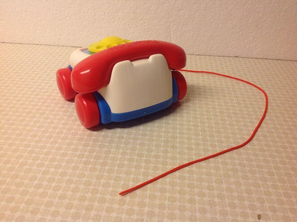 Telefon Træktelefon Ældre Legetøjstelefon,