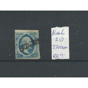 Nederland-1-II-16-034-IRNSUM-034-langstempel-RR-VFU-gebr-CV-500