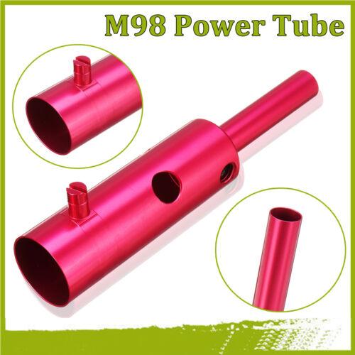New  Aluminum alloy Power Tube Powertube Upgrade Part For Tippmann M Model    Ц