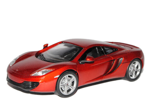 McLaren MP4-12C Coupe Rot Metallic 2011-2014 1//24 New Ray Modell Auto mit oder..