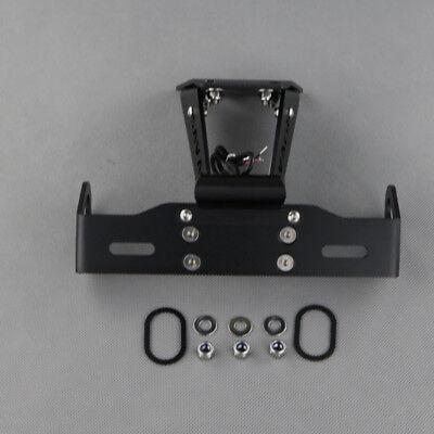 CB 650F CBR 650F CNC LED License Plate Bracket Holder Fender Eliminator for 2014-2019 Honda CB650F CBR650F CBR-650-F CBR-650-F Accessories 2016 2017 2018