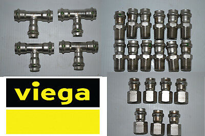 316 Stainless Steel P: 10//Each Viega Propress Adapter 80010
