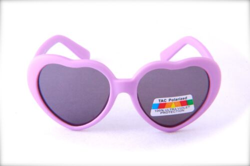 Baby Heart Design Polarized Sunglasses Lightweight UltraViolet Blocking KR505POL