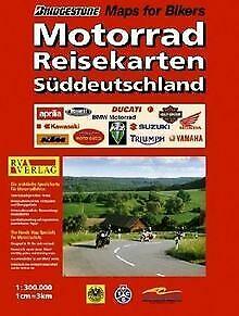 RV Motorad-Reisekarten 1:300 000 Süddeutschland | Buch | Zustand gut