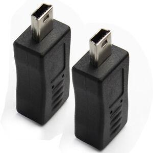 MICRO-B-FEMALE-TO-MINI-USB-MALE-ADAPTER-Electronics-2-Packs