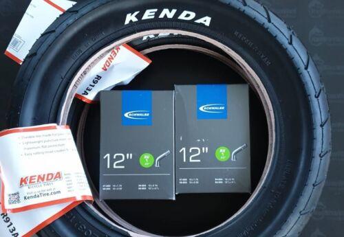 2 x Kenda Reifen 57-203 R-913A mit Schwalbe Schlauch 12 1//2 x 2 1//4