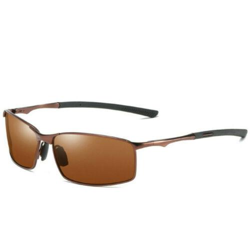 Aluminium Polarized Photochromic HD Sunglasses Men Chameleon Driving Sun Glasses