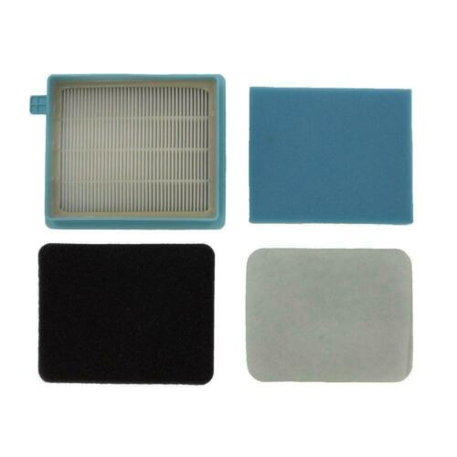 Details about  /HEPA Exhaust Filter Kit For Philips PowerPro Compact FC8470 FC8471 FC8472 FC8473