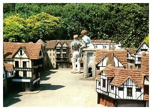 Postcard-MODEL-VILLAGE-HASTINGS-Ref-D2