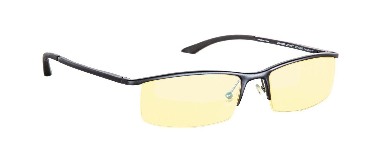 NEW Gunnar ST003-C001-N-A Emissary Onyx Frame Computer Glasses w  Amber Lens