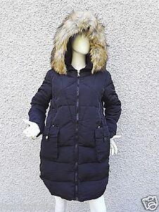 Détails sur Manteau Doudoune Mi Longue Femme à Capuche veste Fourrure chaud hiver F 079