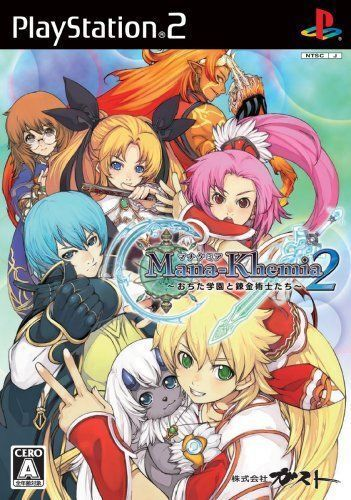 Used PS2 Mana Khemia 2: Ochita Gakuen to Renkinju  SONY PLAYSTATION JAPAN IMPORT