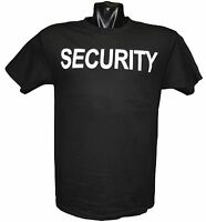 Security T Shirt Black