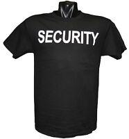 Security T Shirt Black
