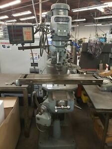 Bridgeport Mill For Sale >> Details About Used Bridgeport Mill Series 1 Manual Cnc Machining