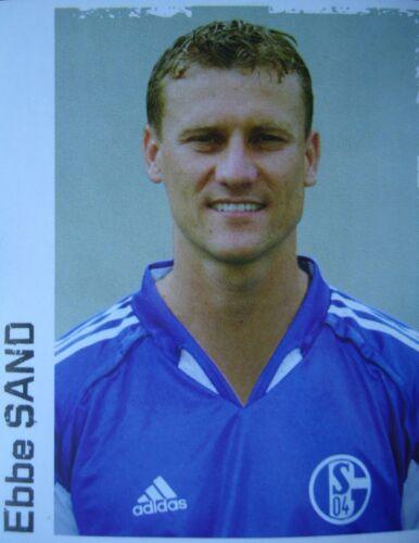 Panini 192 BL Fussball 2004//05 Ebbe Sand FC Schalke 04