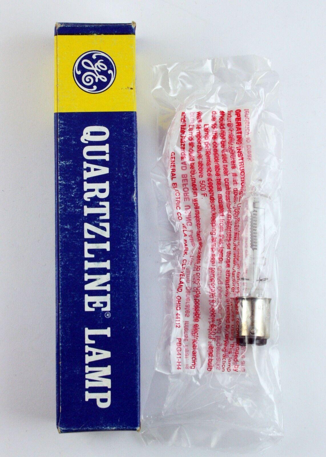 GE 250W 120V QUARTZLINE TUNGSTEN-HALOGEN LAMP Q250CL//DC