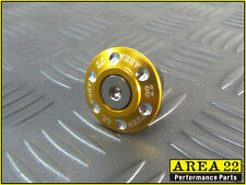 Kawasaki Pro Z125 Z 125 2016 - 2017 Area 22 CNC Steering Stem Cap Cover Gold