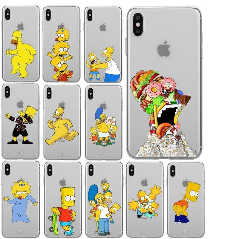 Funda iPhone 6 Bart Simpson Transparente