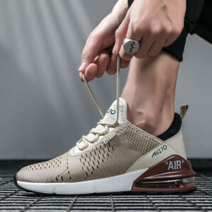 Men-039-s-Air-Max-270-Flyknit-Running-Jogging-Sports-Shoes-Cushion-Athletic-Sneakers