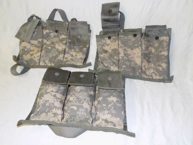 US Military USGI Army MOLLE 6 Magazine Bandoleer Mag Pouch ACU Digital MINT//LN