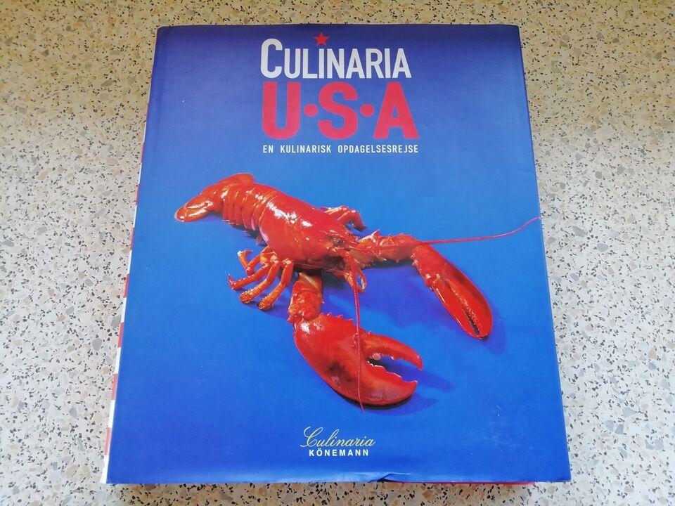 Bøger og blade, Bog med Culinaria U. S. A en kulinarisk