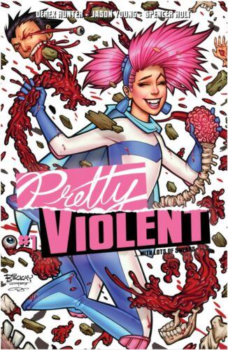 Pretty Violent 1 Bill McKay Variant Port City Comics Exclusive