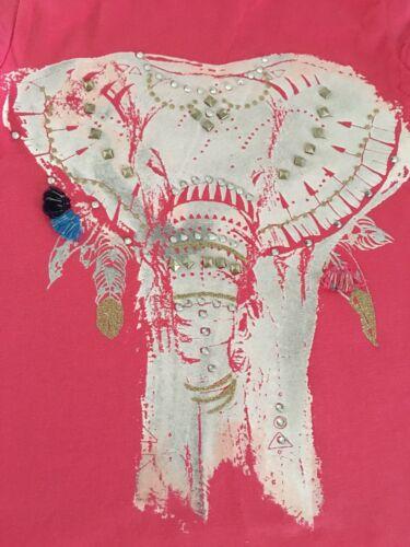 NWT Gymboree Girl Safari Twirl Elephant Tee /& Black Capri Leggings Outfit 4 5 6