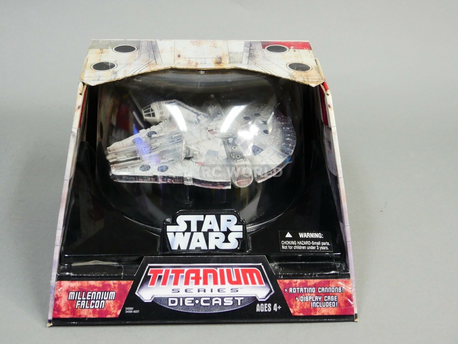 Star Wars Titanium Series MILLENNIUM FALCON Die-Cast Model  ob1