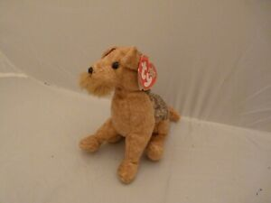 Mint w// Tag 2004 PE Pellets Ty Beanie Babies Scrappy the Puppy dog